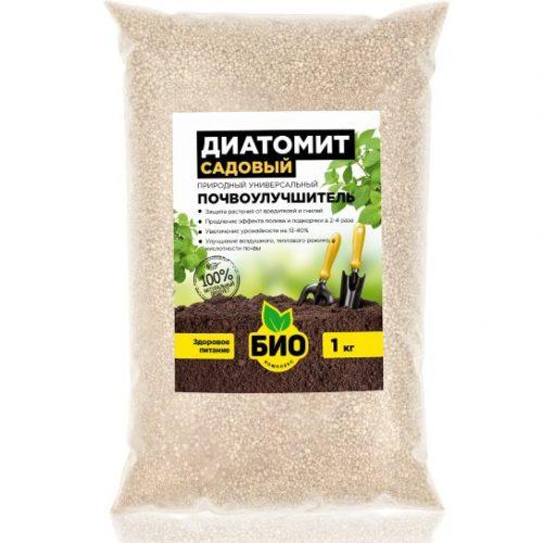 Диатомит садовый, почвоулучшитель, инсектицид